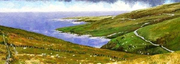 Painting - Donegal Coast by Jim Gola