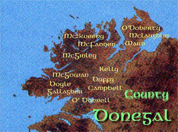 Digital Art - Donegal Families by Val Byrne