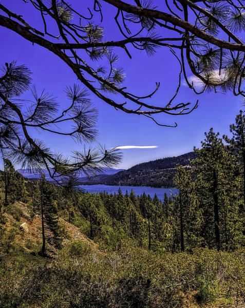 Wall Art - Photograph - Donner Lake by Nancy Marie Ricketts