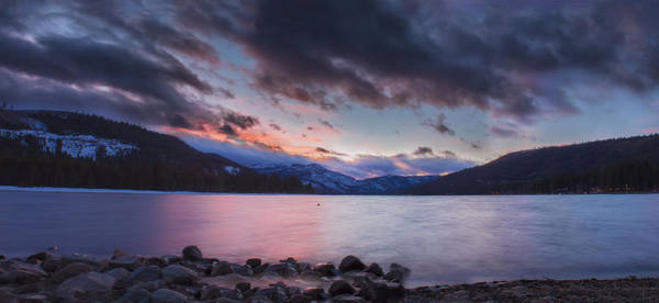 Donner Photograph - Natural Light Gradient Donner Lake by Jeremy Jensen