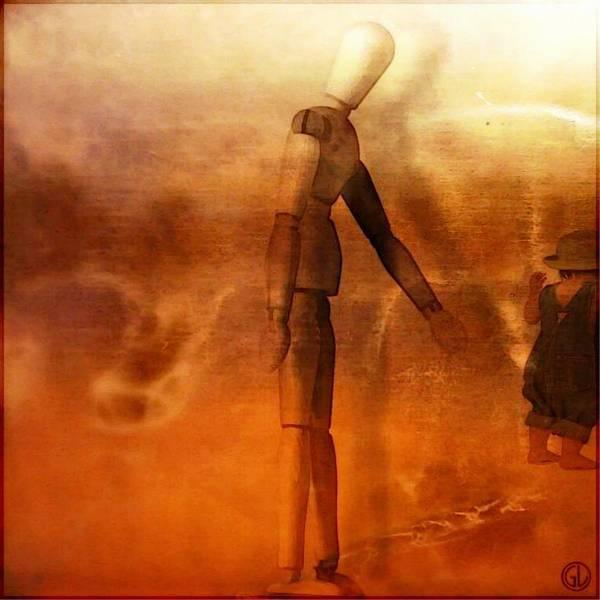 Mannequin Digital Art - Don't Be Stupid...come Now by Gun Legler