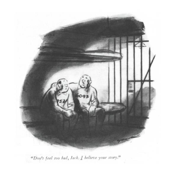 Innocence Drawing - Don't Feel Too Bad by Leonard Dove