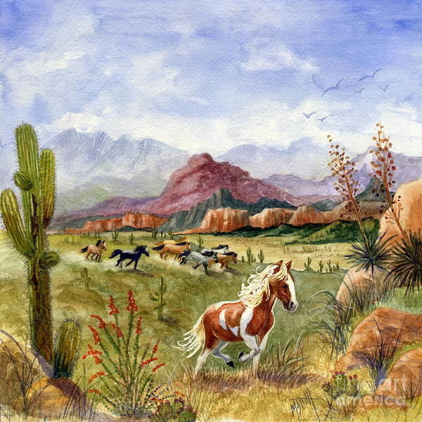 Painting - Don't Fence Me In Part One by Marilyn Smith