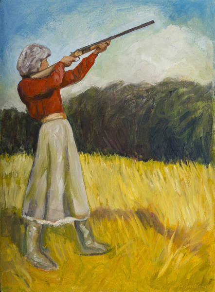Painting - Don't Mess With Mama by Laura Lee Cundiff