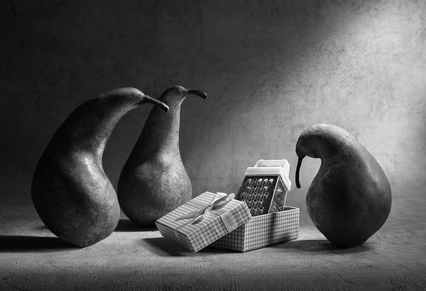 Sad Photograph - Don't You Like Our Present?! by Victoria Ivanova