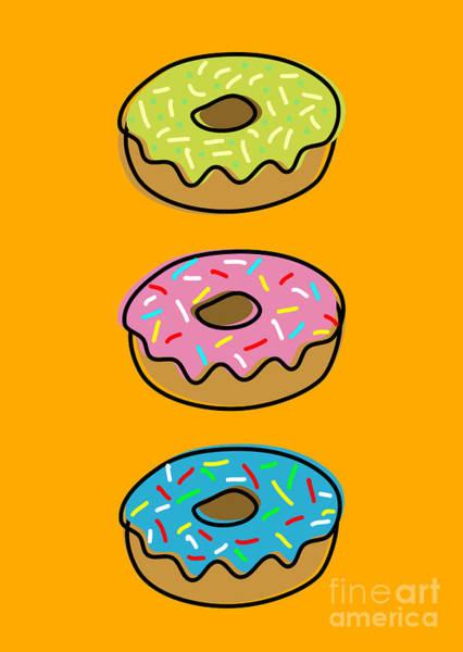 Icing Digital Art - Donuts by Shawn Hempel