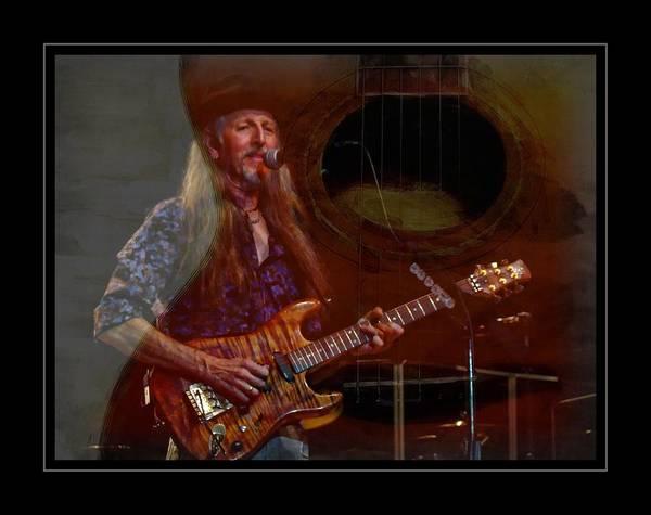 Photograph - Doobie Guitar by Alice Gipson