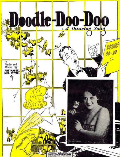 Wall Art - Photograph - Doodle Doo Doo by Mel Thompson