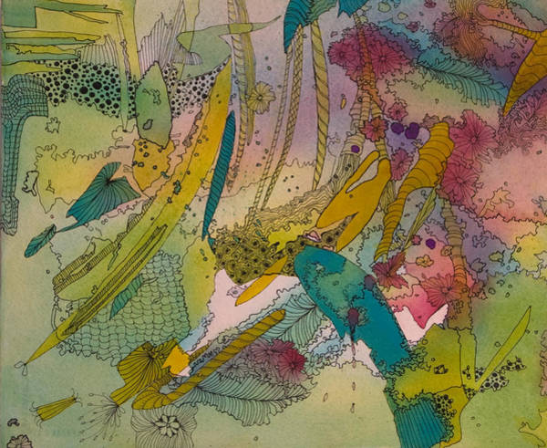 Painting - Doodles With Abstraction by Terry Holliday