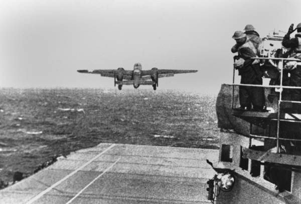 Wall Art - Photograph - Doolittle Raid, April 18, 1942. An Army by Everett