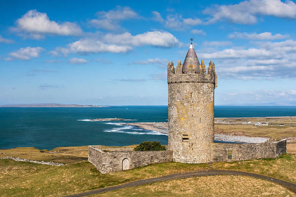 Photograph - Doonagore Round Tower Ireland by Pierre Leclerc Photography
