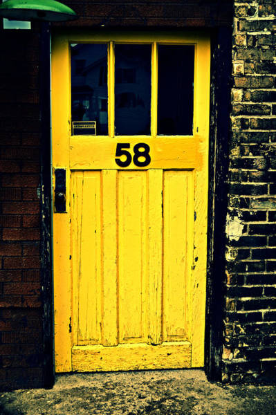 Photograph - Door 58 by Cyryn Fyrcyd