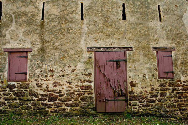 Photograph - Door And Windows by Kristia Adams
