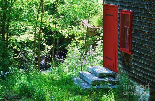 Wall Art - Photograph - Red Door At The Grist Mill by Marcus Dagan
