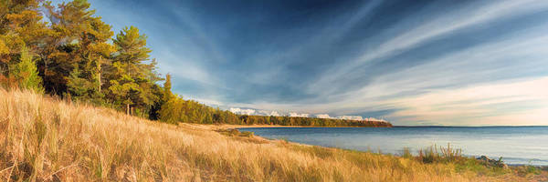Painting - Door County Europe Bay Panorama by Christopher Arndt
