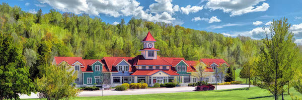 Painting - Door County Little Sweden Resort Panorama by Christopher Arndt