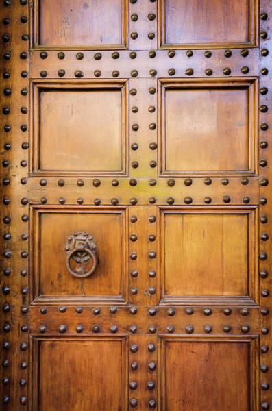 Wall Art - Photograph - Door Detail, Basilica Di San Lorenzo by Russ Bishop