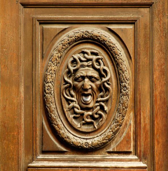 Photograph - Door Detail by Mick Burkey