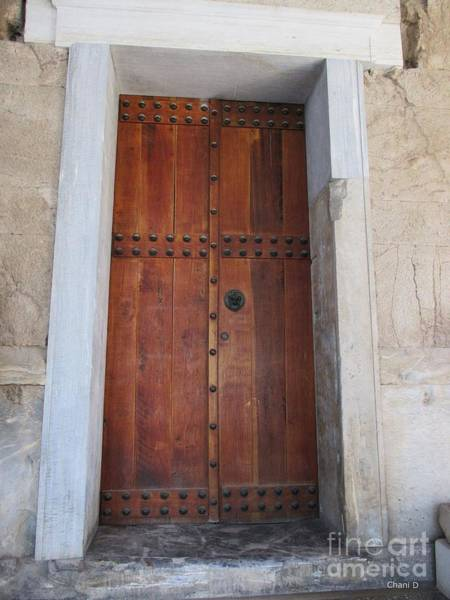 Photograph - Door In Ahens by Chani Demuijlder