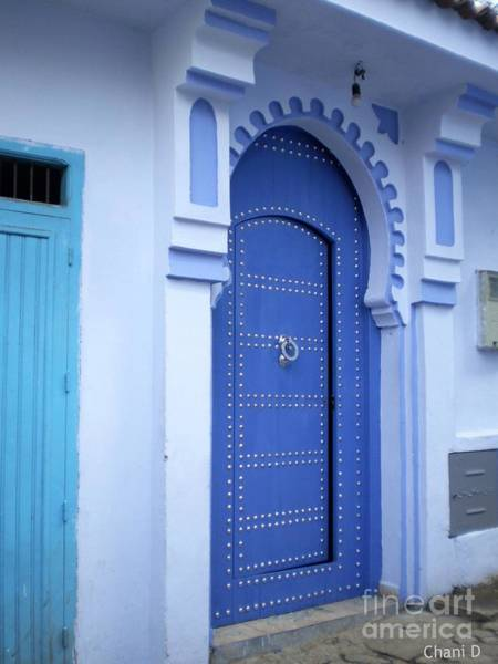 Photograph - Door In Chefchaouen by Chani Demuijlder