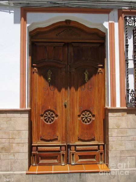 Photograph - Door In Setenil by Chani Demuijlder