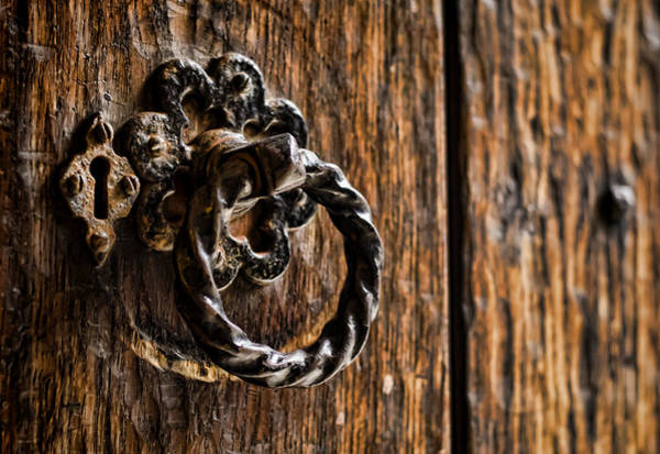 Photograph - Door Knocker by Heather Applegate