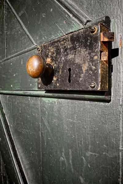 Latch Wall Art - Photograph - Door Lock by Olivier Le Queinec