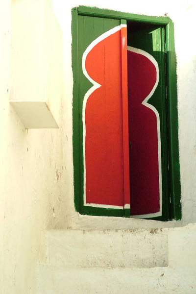 Photograph - Door Looks Misaligned by Donna Corless