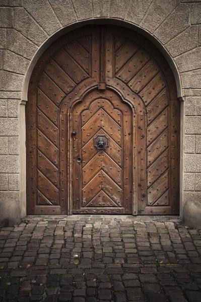 Photograph - Door by Maria Heyens