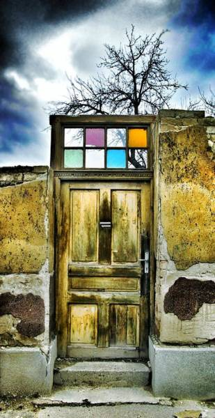 Flake Photograph - Door Of Lost Dreams by Marianna Mills