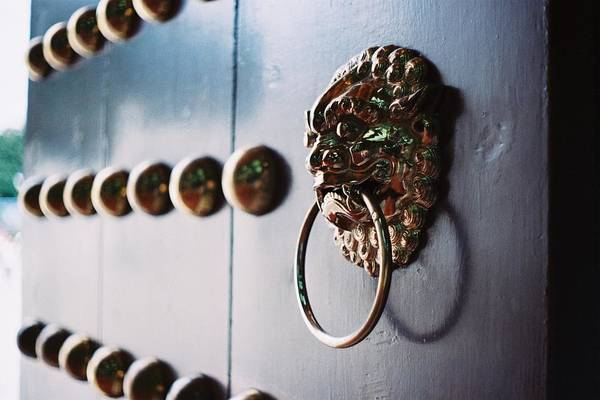 Design Photograph - Door Ring by Photography By Bert.design