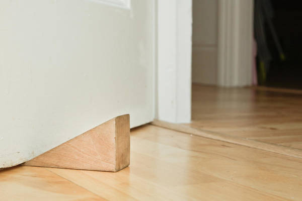 Compartments Photograph - Door Stopper by Tom Gowanlock