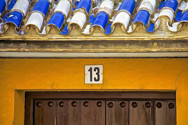 Photograph - Door Thirteen Of Spain by David Letts