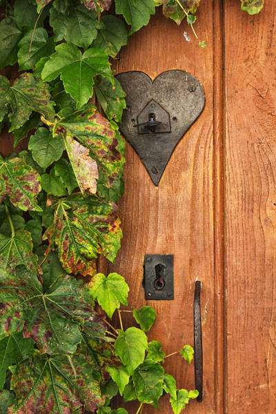 End Of Summer Photograph - Door To My Heart by Georgia Fowler