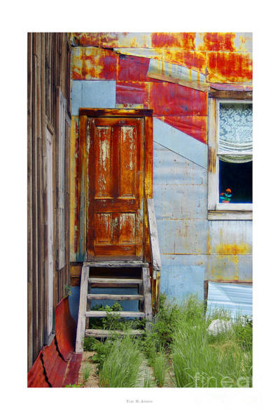 Photograph - Door To The Past  St. Elmo by Teri Brown