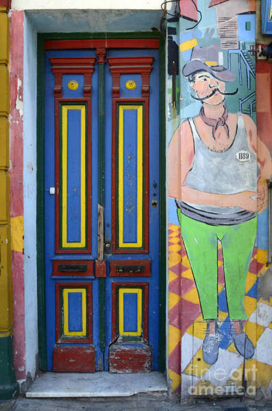 Wall Art - Photograph - Doors And Windows Buenos Aires 7 by Bob Christopher
