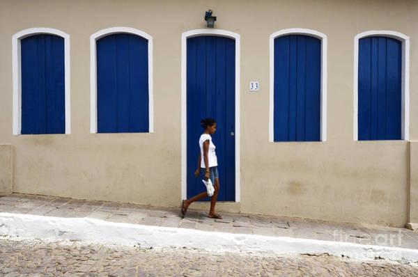 Chapa Photograph - Doors And Windows Lencois Brazil 2 by Bob Christopher