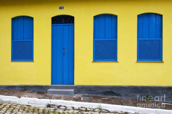 Chapa Photograph - Doors And Windows Lencois Brazil 8 by Bob Christopher