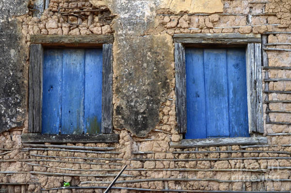 Minas Gerais Wall Art - Photograph - Doors And Windows Minas Gerais State Brazil 1 by Bob Christopher