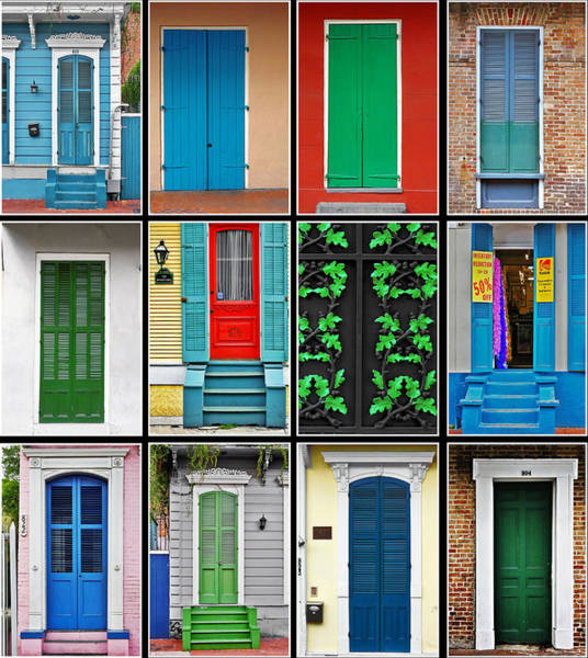 Photograph - Doors New Orleans by Christine Till