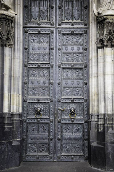 Germania Photograph - Doors Of Cologne 04 by Teresa Mucha