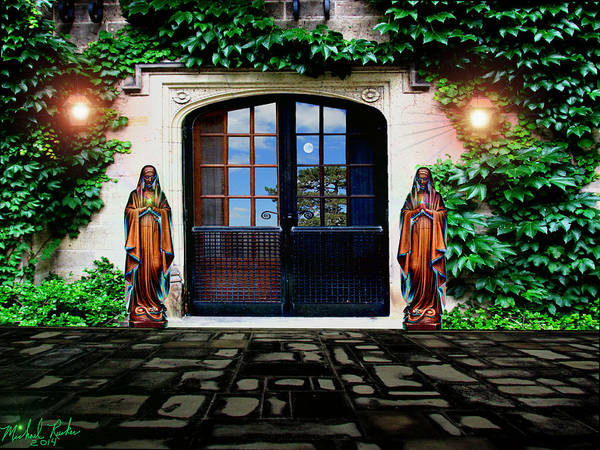 Wall Art - Digital Art - Doors Of Ivy by Michael Rucker