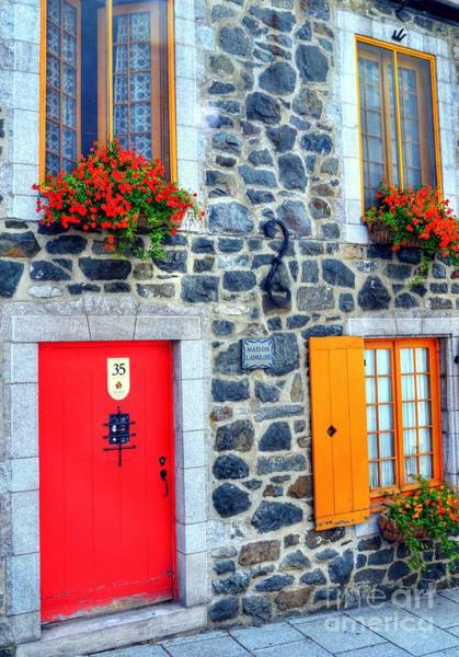 Quebec City Photograph - Doors Of Quebec 2 by Mel Steinhauer