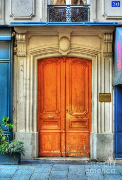 Photograph - Doors Of Rue Cler 3 by Mel Steinhauer