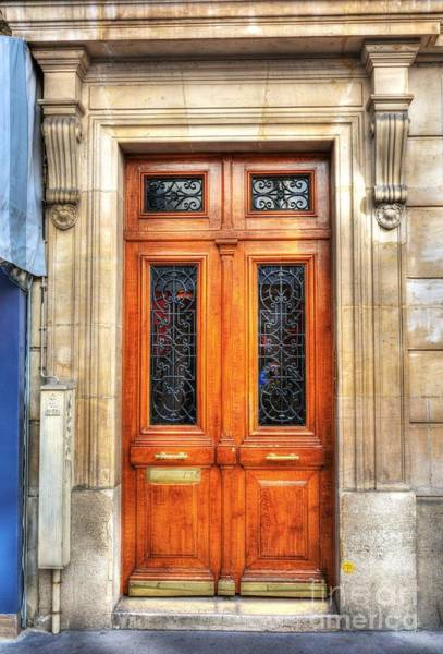 Photograph - Doors Of Rue Cler 4 by Mel Steinhauer