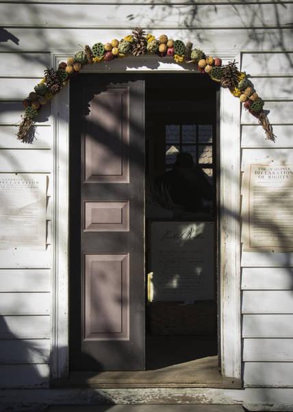 Royal Colony Photograph - Doors Of Williamsburg 24 by Teresa Mucha