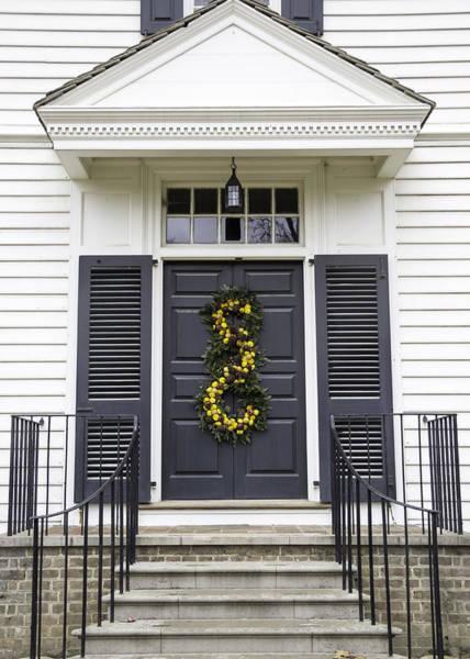 Royal Colony Photograph - Doors Of Williamsburg 34b by Teresa Mucha