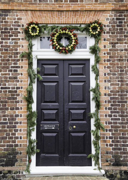 Royal Colony Photograph - Doors Of Williamsburg 35 by Teresa Mucha