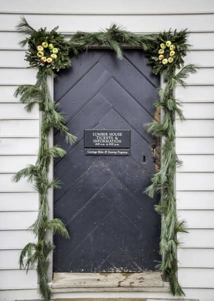 Royal Colony Photograph - Doors Of Williamsburg 37 by Teresa Mucha