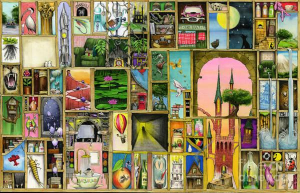 Armed Digital Art - Doors Open by MGL Meiklejohn Graphics Licensing